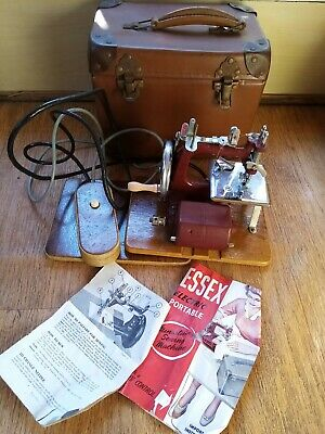 Essex Portable Electric Sewing Machine. In Working Order