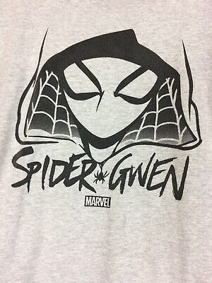 Marvel Spider Gwen Men/'s Pink T-shirt Turtle Tee NEW Size Small