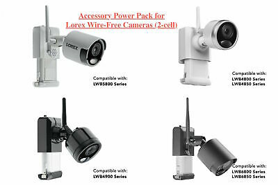Lorex ACCPWRLHV516B 4-in-1 Power Adapter for Lorex 4K Security Camera Black