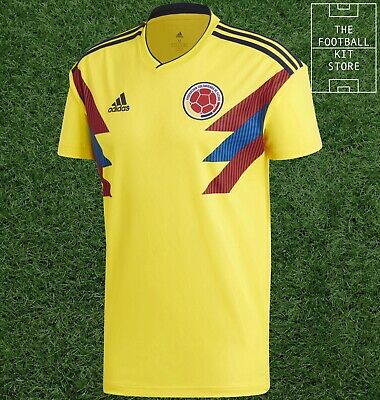 Colombia Home Shirt - Official adidas Football Jersey - Mens - All Sizes