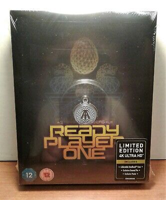 Ready Player One [SteelBook] [Titans of Cult #4] [4K+Blu-ray] NEW - PRE-ORDER!!!