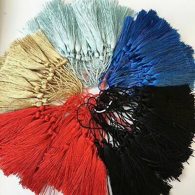 AU STOCK Fringe Tassel Sewing Finishes Decor Trim Hanging Craft DIY TASSEL 5PCS