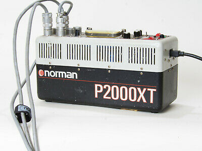 Norman P2000XT Power Pack!!! STUDIO UNIT!!! TESTED!!!