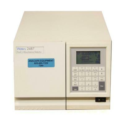 Waters 2487 Dual λ Absorbance Detector w/ Bulb USED (7260)R