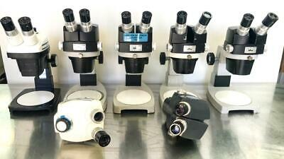 Reichert 569 Stereo Star ZOOM 0.7x - 3.0x Stereo Microscope Lot of 7 (7584) W