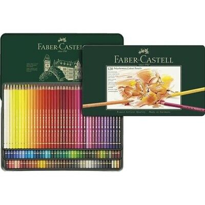 Faber-Castell Polychromos® Artists' Color Pencils - Tin of 120 - #110011