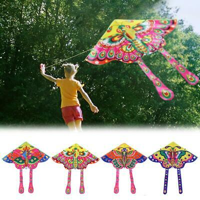 90x50cm Bright Cloth Colorful Butterfly Kite Outdoor Foldable Kids Kites