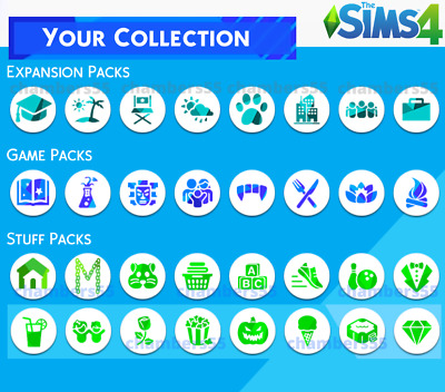 💥SALE! The Sims 4 + ALL Expansions and game packs   30+ DLC   Windows