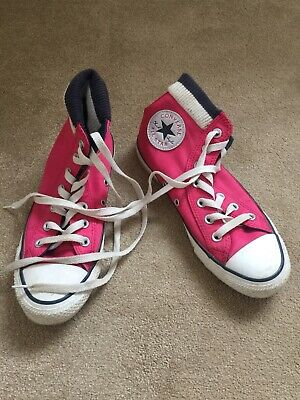 Converse  All Star Pump Style Trainers Size Uk 4.5 In Great Condition