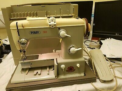 Pfaff 362 Sewing Machine--- Vintage And Rare. Not Fully Tested