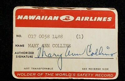 Hawaiian Airlines paper credit card♡Free Shipping♡cc1208♡ extremely rare