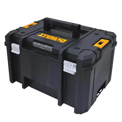 DEWALT DWST17806 TSTAK 44 lb. Deep Storage Box with Flat Top