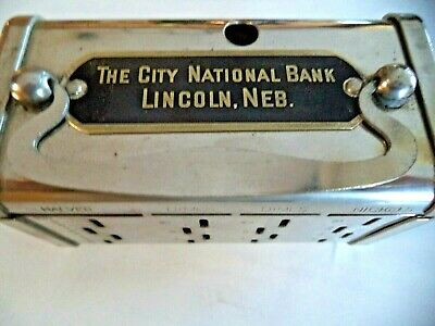 Bankers Service Corp.  $5.00 Gold Coin The City National Bank Lincoln, Neb.1 Key