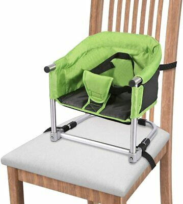 Portable Booster Feeding Seat W/ Carry Bag Folding High Chair Home & Travel Baby