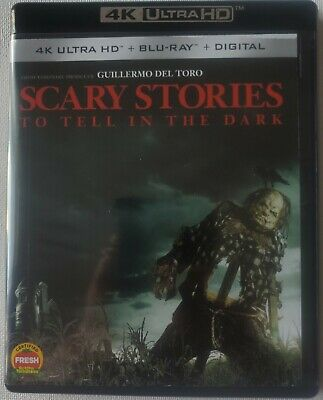 Scary Stories To Tell In The Dark 4K Ultra Hd Blu Ray 2 Disc Set Free Shipping