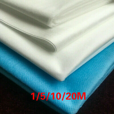 DIY Soft Waterproof Non-woven Meltblown Fabric Craft Breathable Material 1/5/20M