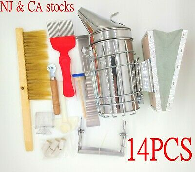 Beekeeping Starter Kit Beekeeping Supplies Bee Smoker Beekeeper Tools Catcher
