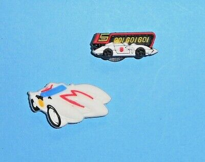 Mach 5  Speed Racer Shoe Charms Shoe Buttons  auction