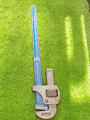"Record 24"" Stillson Pipe Wrench Spanner Made In England"