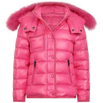 Moncler Kids Girls New Armoise Down Padded  Jacket 6 Years
