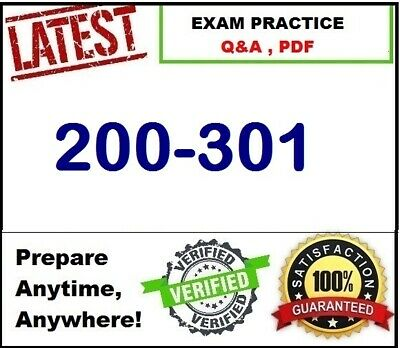 200-301 Cisco Certified Network Associate CCNA  - Exam Preparation Q&A