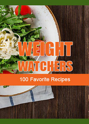 Weight Watchers - 100 Favorite Recipes - Pdf Ebook - Free Shipping