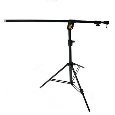 Manfrotto 420NSB Combi Boom Stand Black Tripod Gallows Convertible Three-Leg