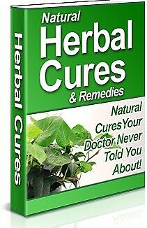 Natural Herbal Cures & Remedies - Pdf Ebook - Free Shipping