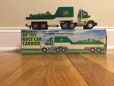Bp 1993 Toy Race Carrier With Race Car 12""