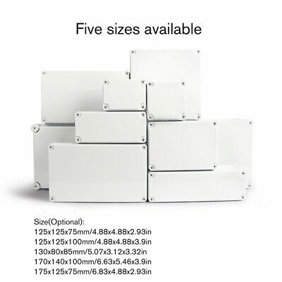 Waterproof Plastic Enclosure Box Electronic Project Instrument Junction Box nn