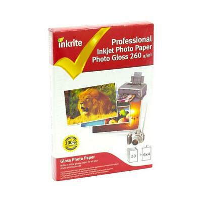 PhotoPlus Professional Paper Photo Gloss 260gsm 6x4 (50 sheets).