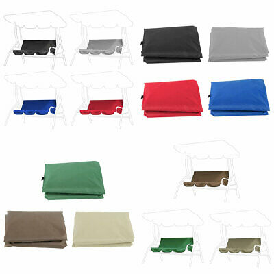 3-Seat Swing Seat Cover Chair Protection Cover Patio Outdoor Waterproof Garden