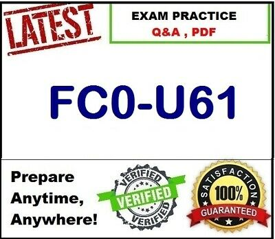 FC0-U61	CompTIA IT Fundamentals+ Certification  EXAM Q&A