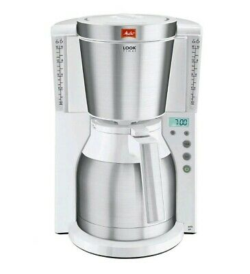Melitta Look IV Therm Timer Filter Coffee Machine White