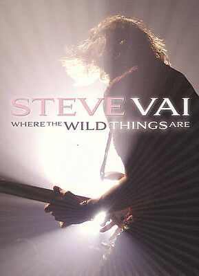 Steve Vai: Where the Wild Things Are (Blu-ray Disc, 2009, 2-Disc Set)