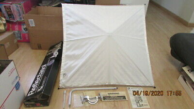 Vintage Reflectasol Larson Ent. Studio Bounce Light Umbrella SSW36C Soft White