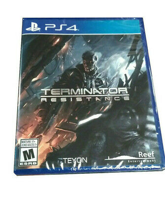 Terminator Resistence Sony PS4 Playstation 4 2020 NEW Factory Sealed US Version