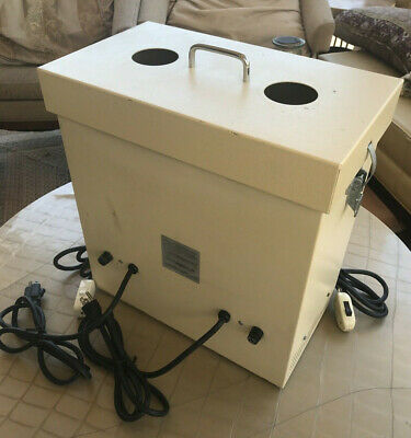 Integral Systems V86DSB-2 Dental Lab Dual Suction Dust Collector Collection Unit