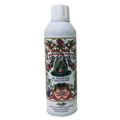 Florida Water Air freshener deodorizer 8 oz Bottle good luck protection Clearing