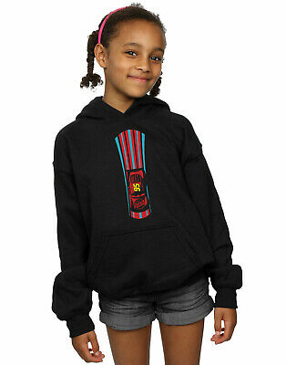 Disney Girls Cars Lightning McQueen Stripes Hoodie