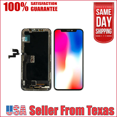 Genuine OLED Replacement Display Screen for Apple iPhone X LCD + Install Tools