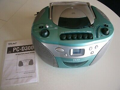 TEAC Portable CD player with AM/FM Stereo Radio