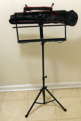 Windsor Music Stand Black with Stand