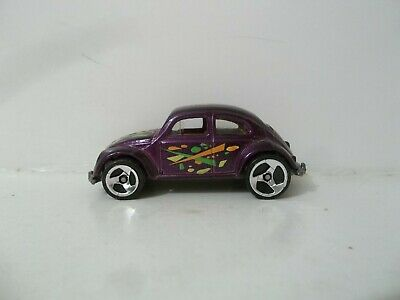 HOT WHEELS HALL OF FAME VOLKSWAGEN VW BEETLE BUG HIPPIE 70's REAL RIDERS TIRE