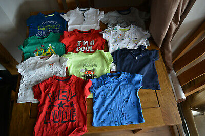 Job Lot of Boys Clothing / Clothes - aged 9 to 12 months - Bundle