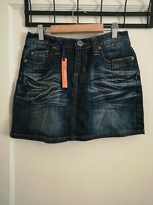 NEW LOOK GENERATION 915 Girls Denim Mini Skirt Age 14  Boy Fit Slouch  F1