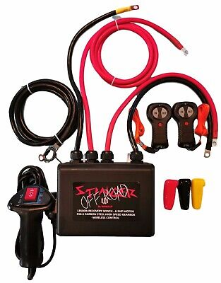 Solenoid control box for recovery winches up to 15000lb 450amp 12v complete
