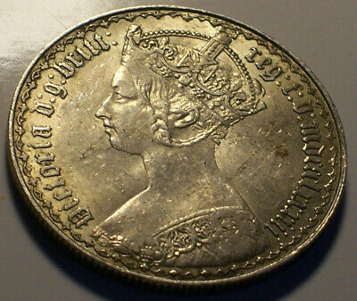 Great Britain, 1883 Victoria Florin. 3,556,000 Mintage.