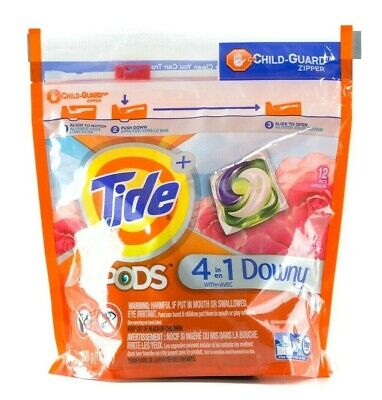 Tide Pods 4 in 1 Downy April Fresh 11oz, 12 Capsules