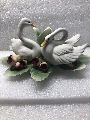 Capodimonde Swan Candle Holder